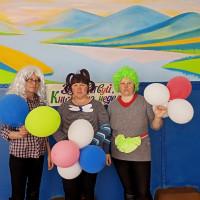Сегодняк детям в Бердяшскую сельскую модельную библиотеку пришли веселые клоуны Чупа, Чупс